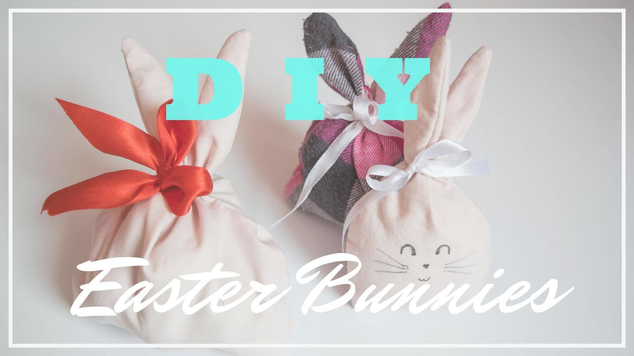 Diy Easter Bunny Room Decor Treat Bag Toy