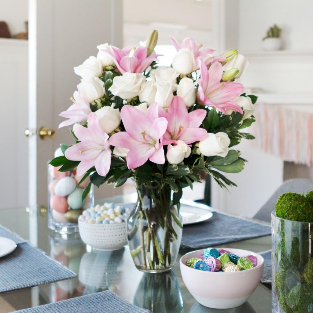 Diy Easter Centerpieces Table