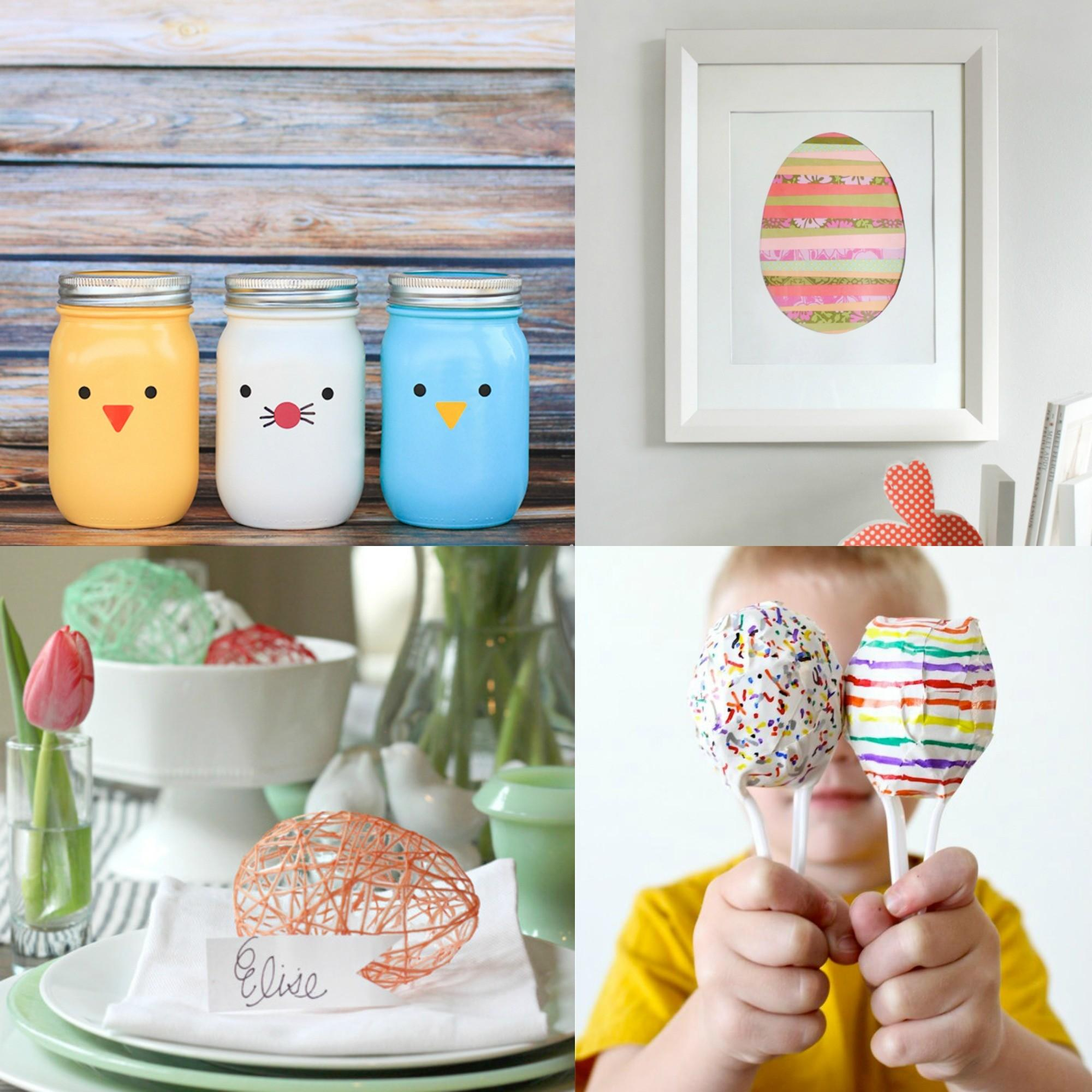 Diy Easter Crafts Games More Creative Juice