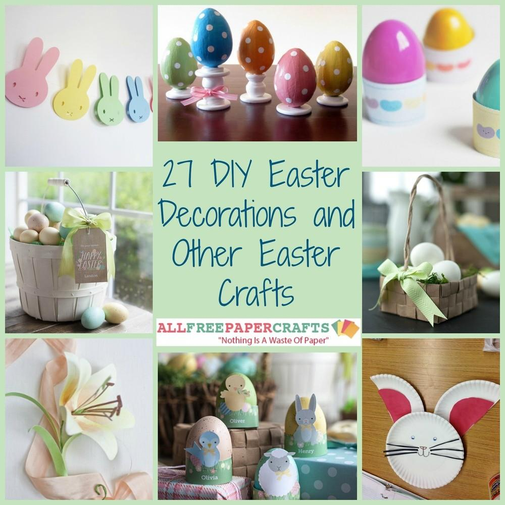 Diy Easter Decorations Other Crafts