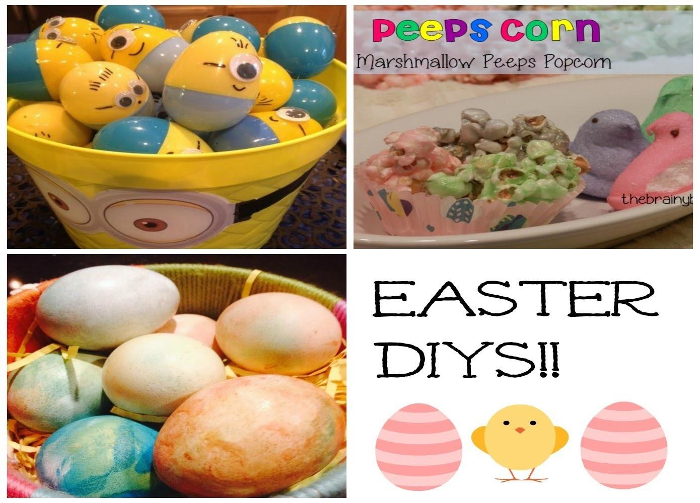 Diy Easter Desserts Egg Decorating