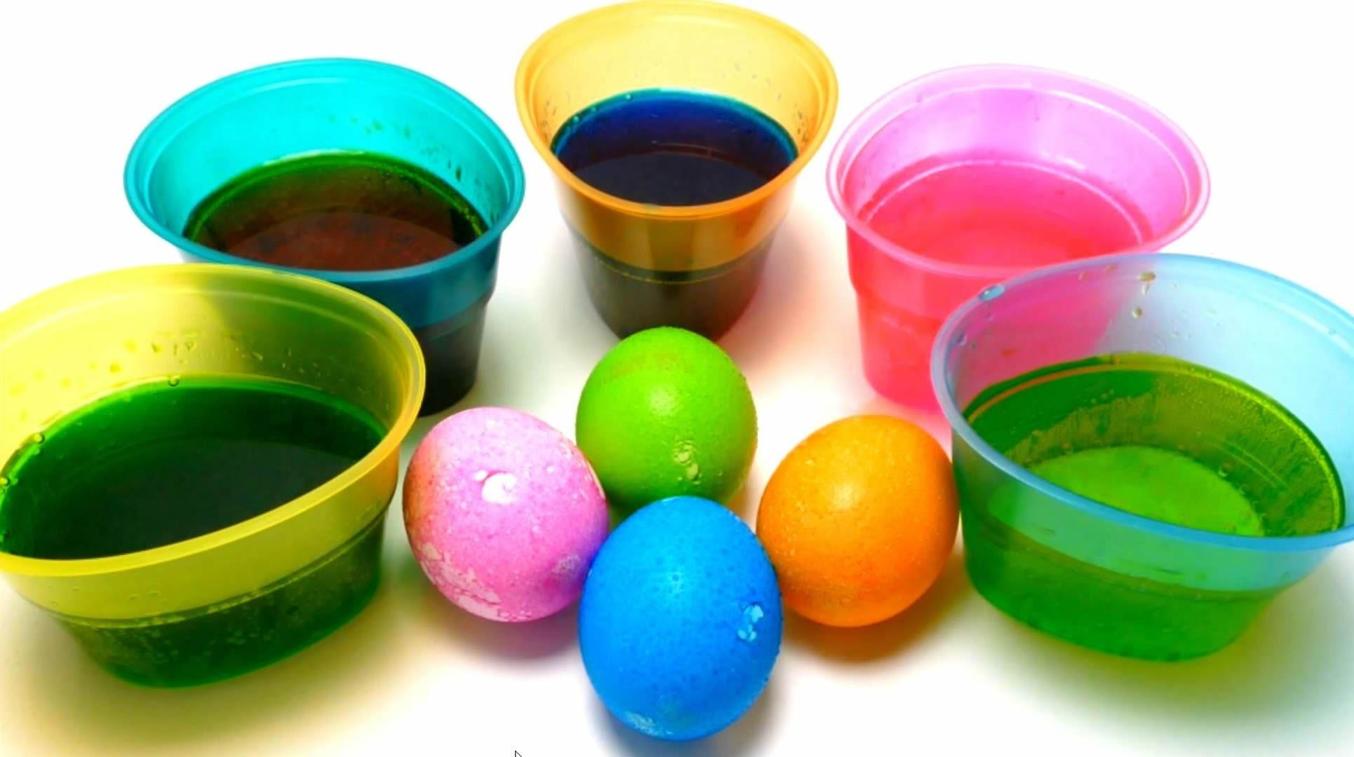 Diy Easter Egg Coloring Paas Color Cups Kit