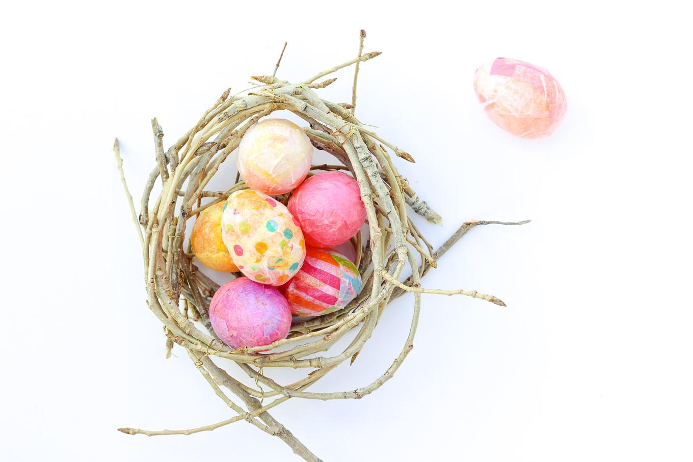 Diy Easter Eggs Craft Stylish Upgrade Plastic
