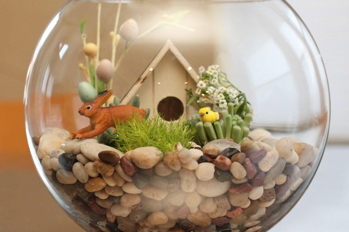 Diy Easter Terrarium Honest Nod