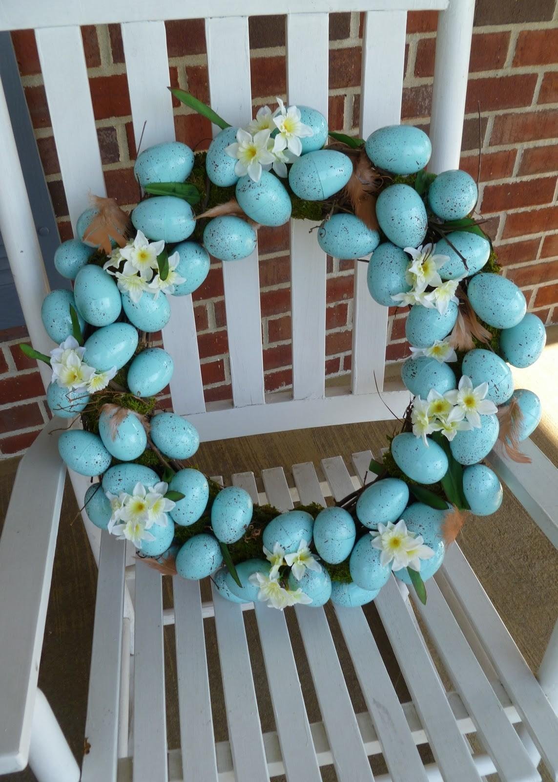 Diy Easter Wreath Soccer Mom Style