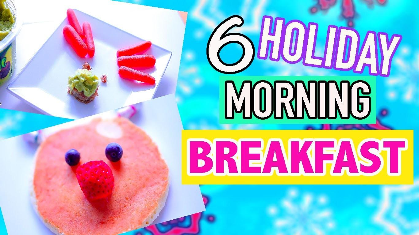 Diy Easy Cute Holiday Treats Morning Breakfast Ideas