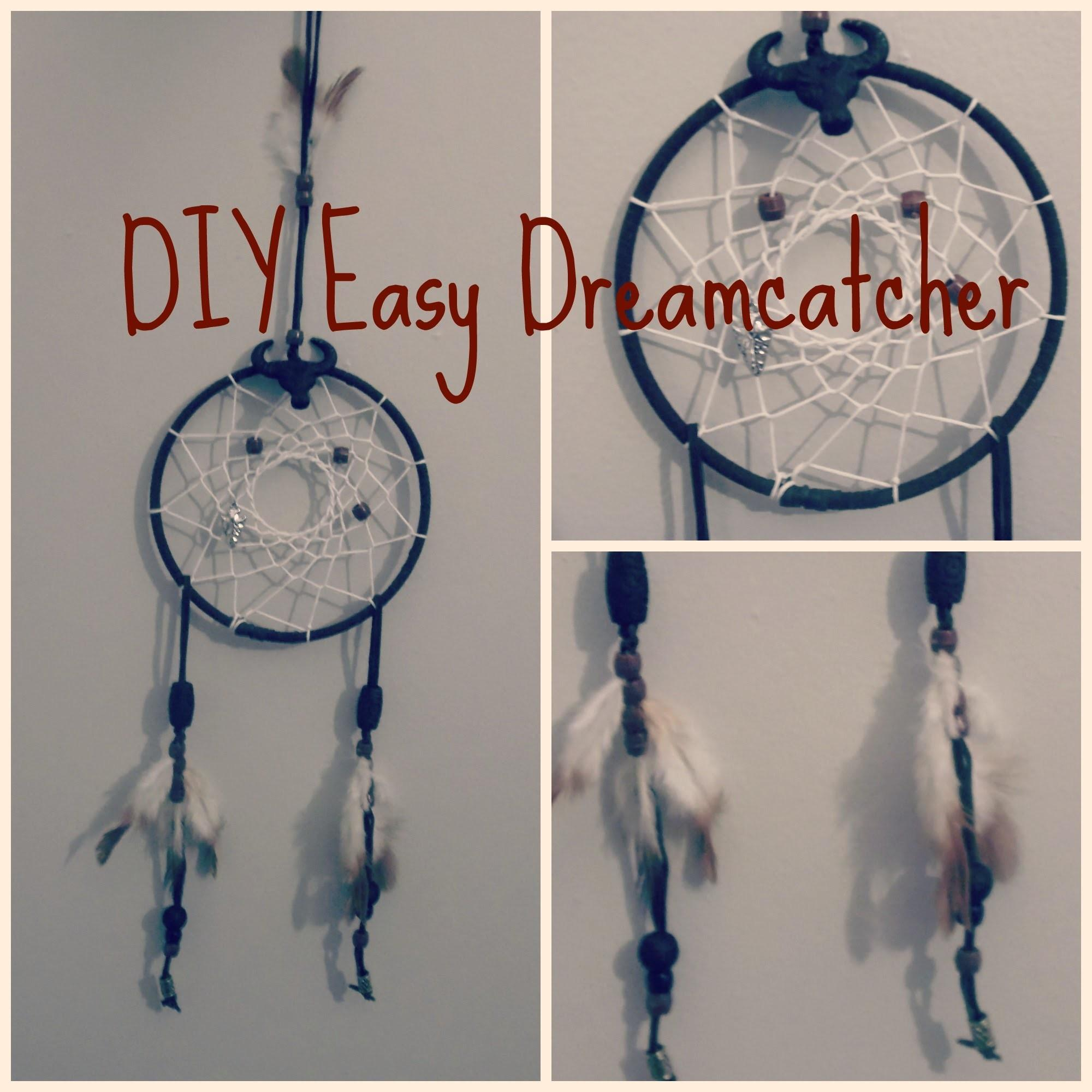 Diy Easy Dreamcatcher