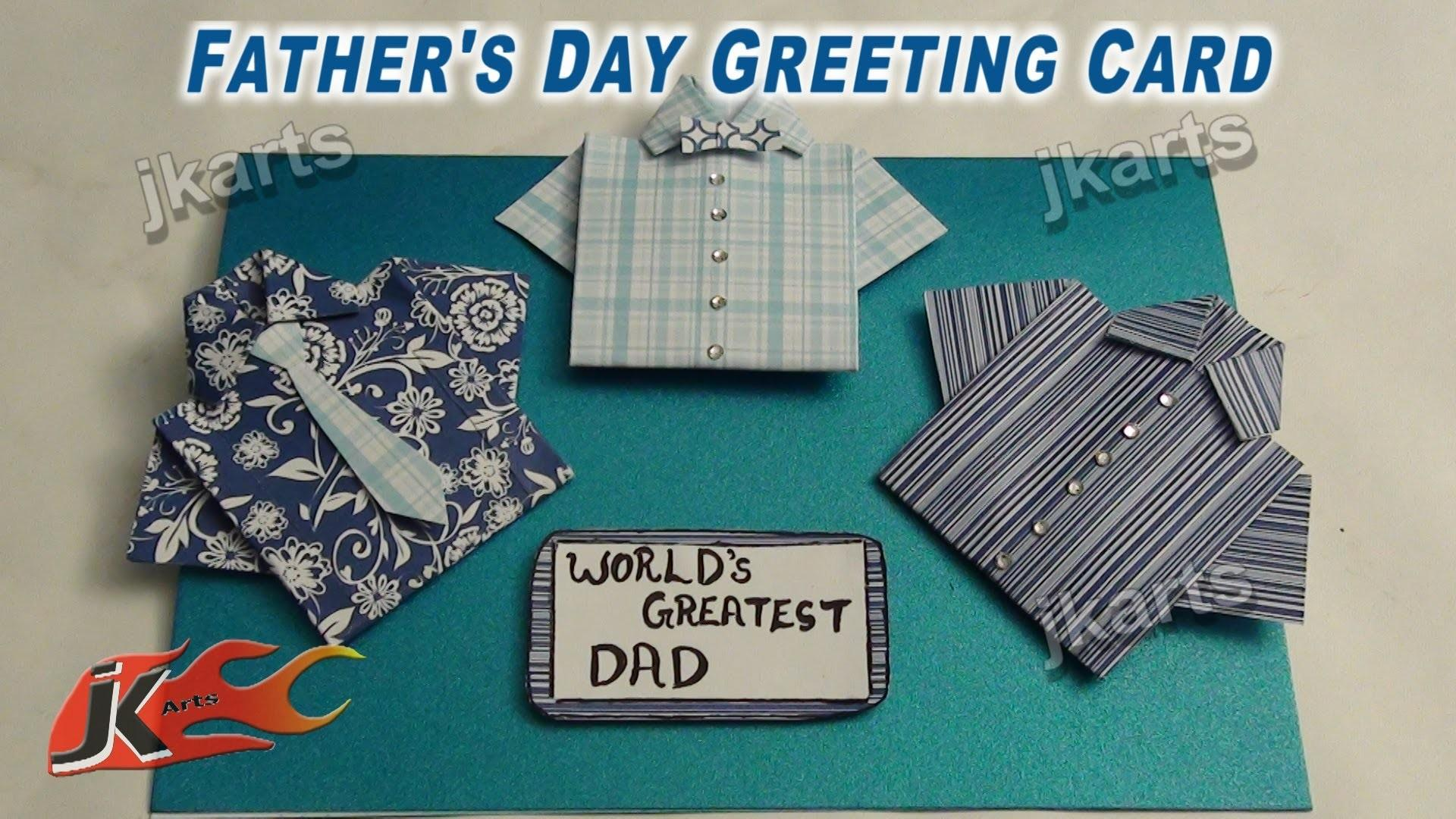 Diy Easy Father Day Shirt Card Make