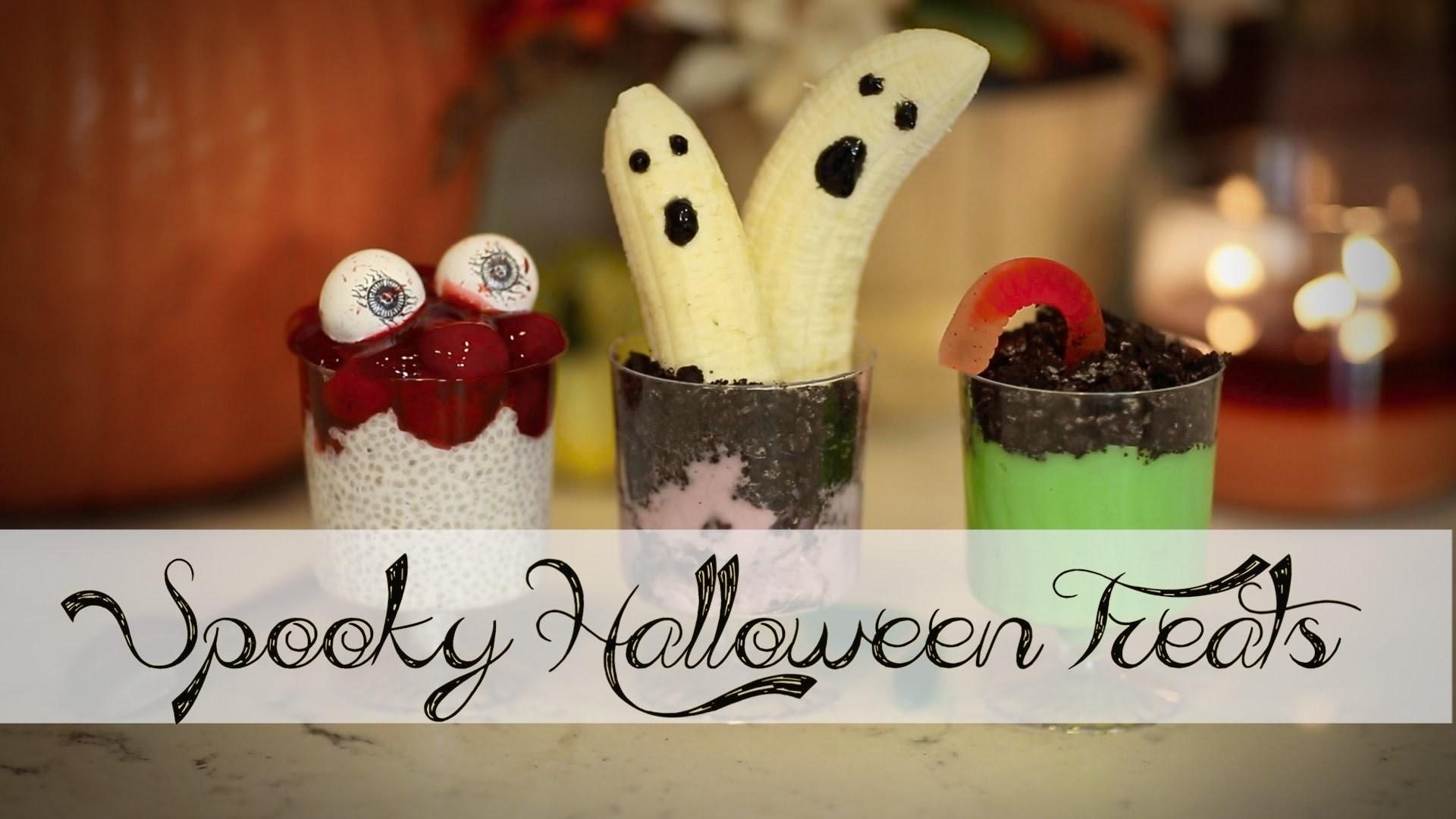 Diy Easy Halloween Yummy Spooky Treats Ann