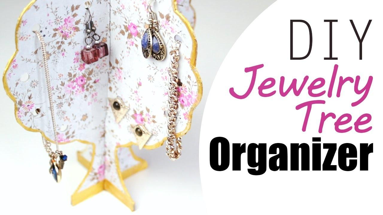 Diy Easy Jewelry Organizer Tree Your Accessories