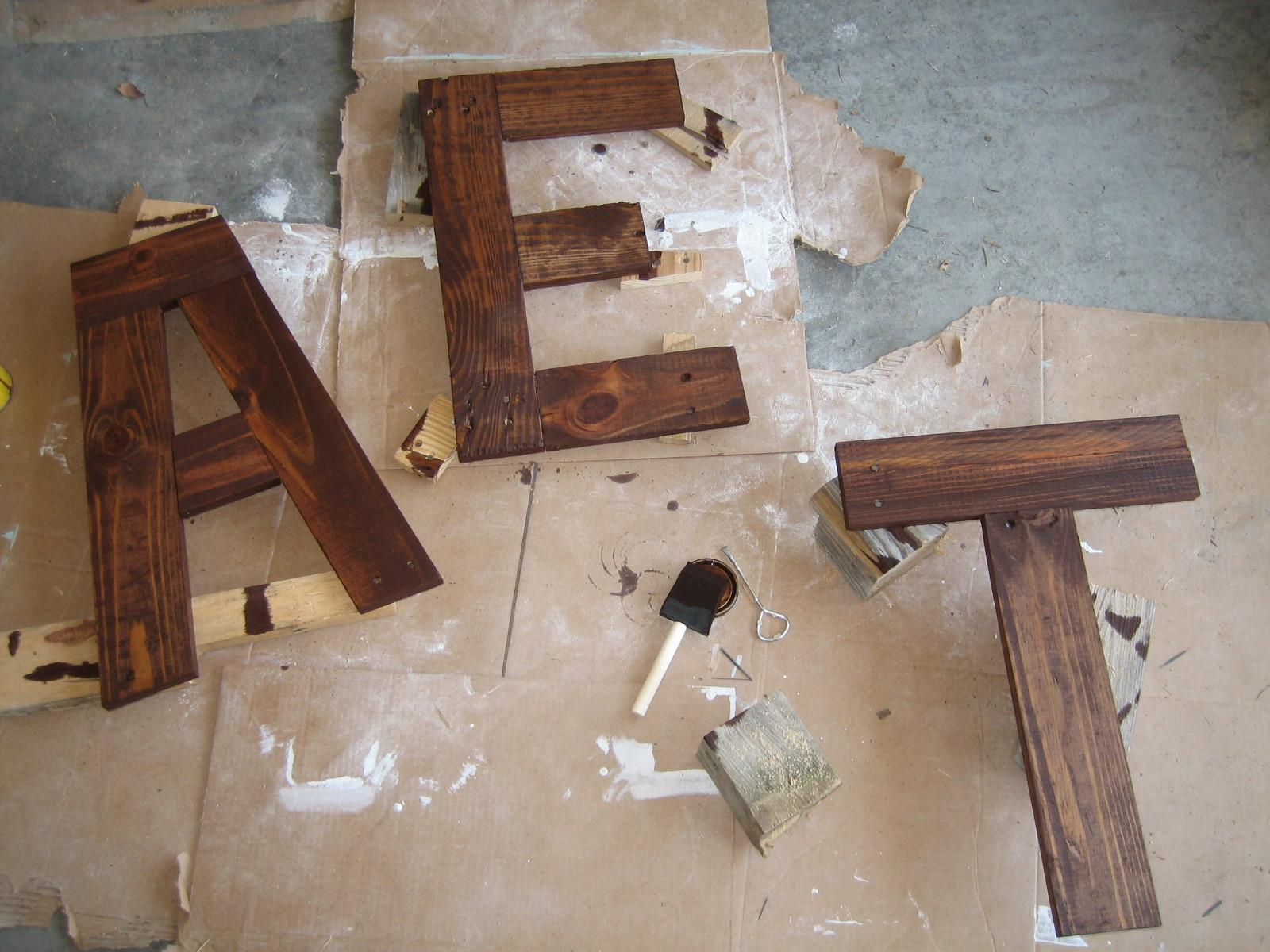 Diy Eat Sign Pallets Turquoise Home