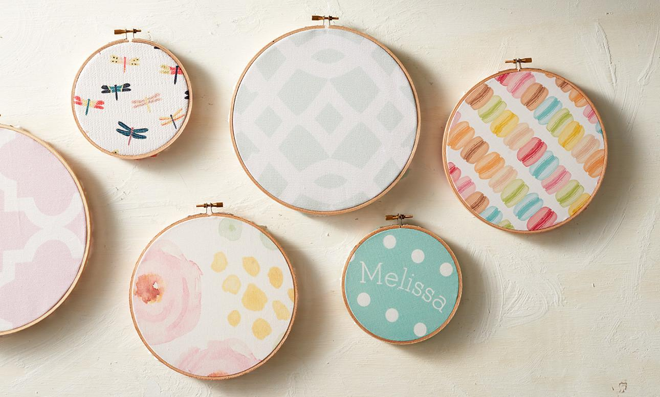 Diy Fabric Embroidery Hoops Zazzle Blog