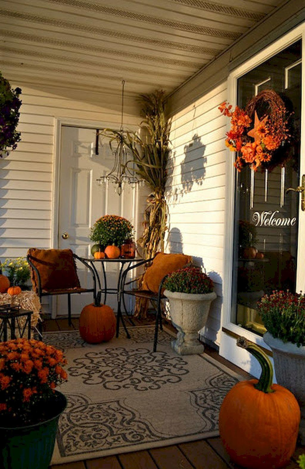 Diy Fall Decor Ideas Small Porch Homearchite