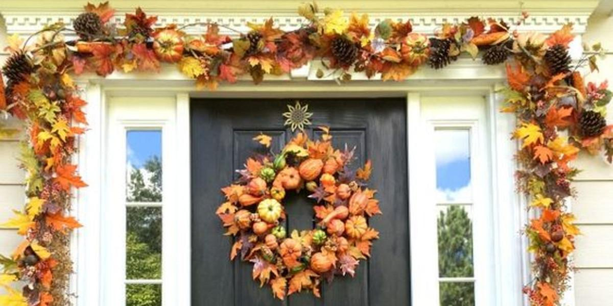 Diy Fall Front Porch Find All Decor Items
