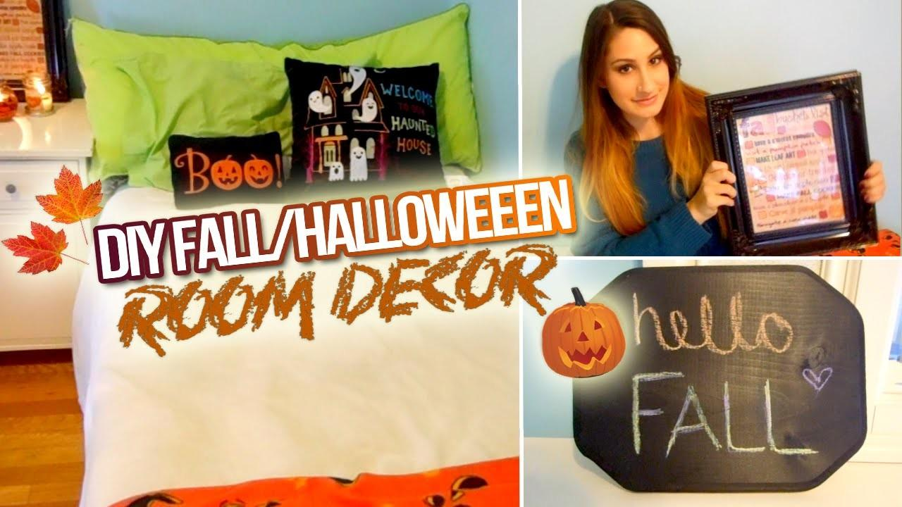 Diy Fall Halloween Room Decor 2014
