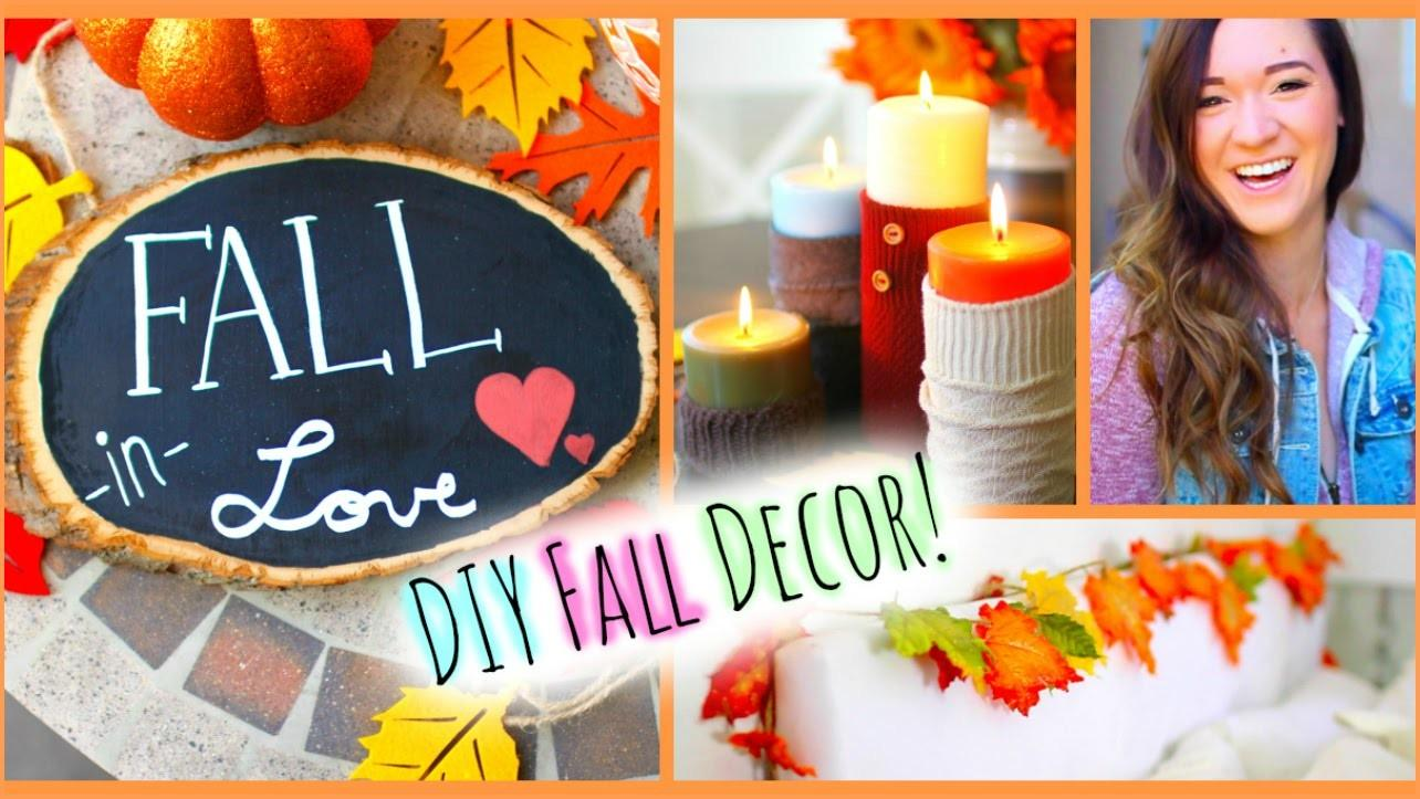Diy Fall Room Decor Easy Ways Decorate Your