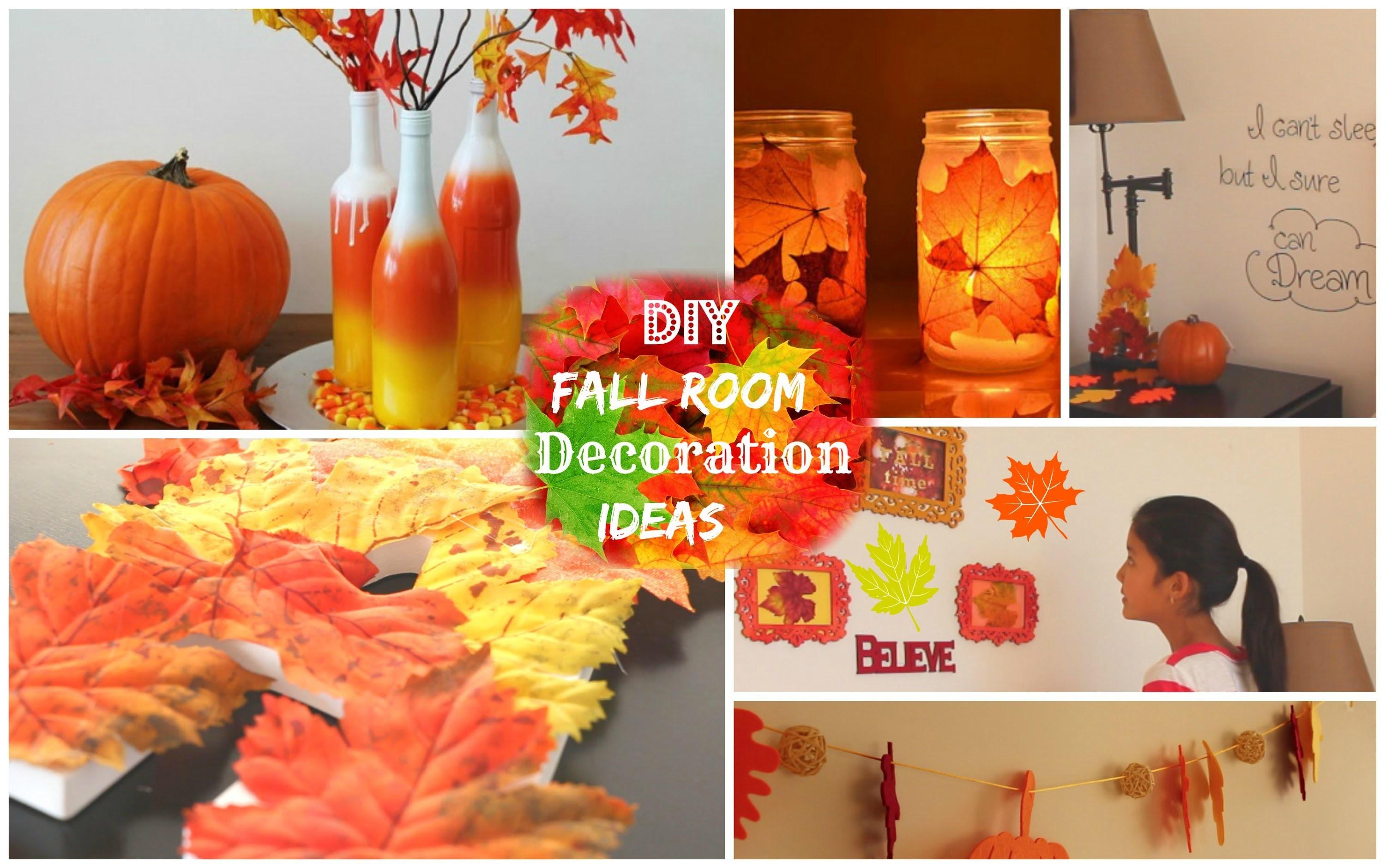 Diy Fall Room Decoration Ideas 2014