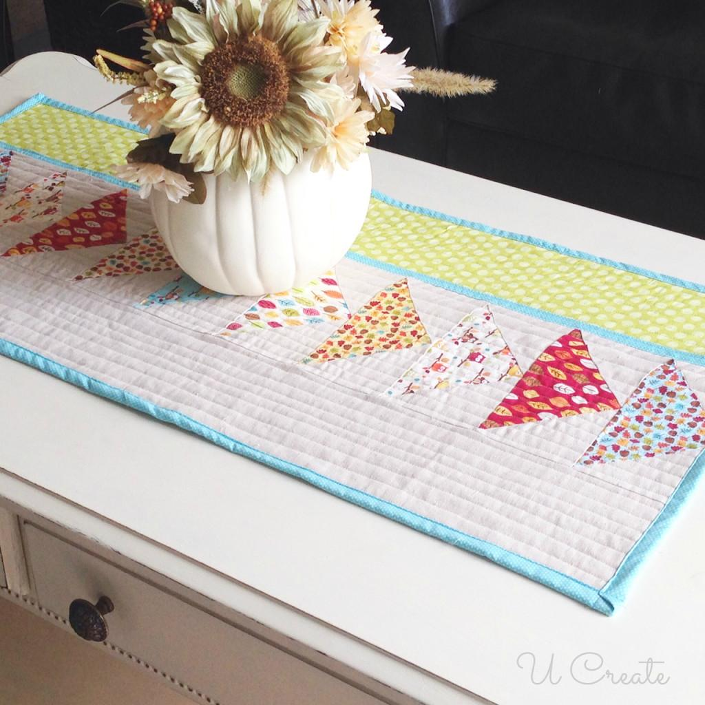 Diy Fall Table Runner Keepcalmpresson Create