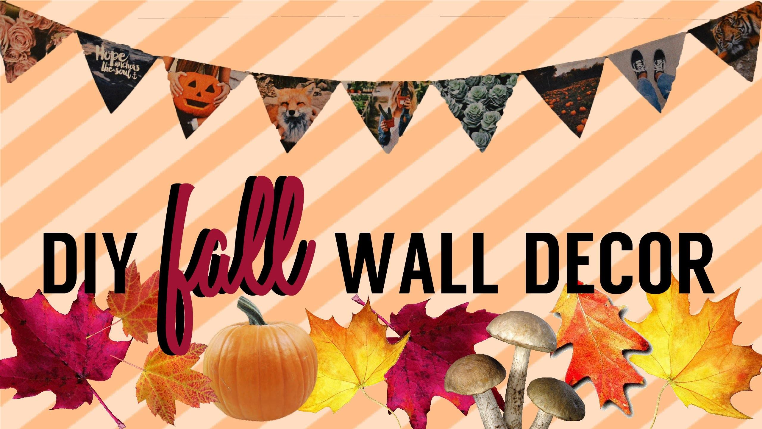 Diy Fall Wall Decor
