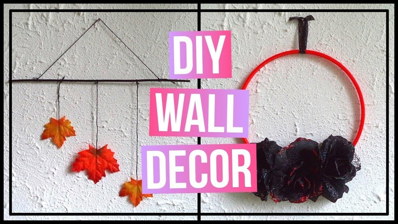 Diy Fall Wall Decor Halloween Idea