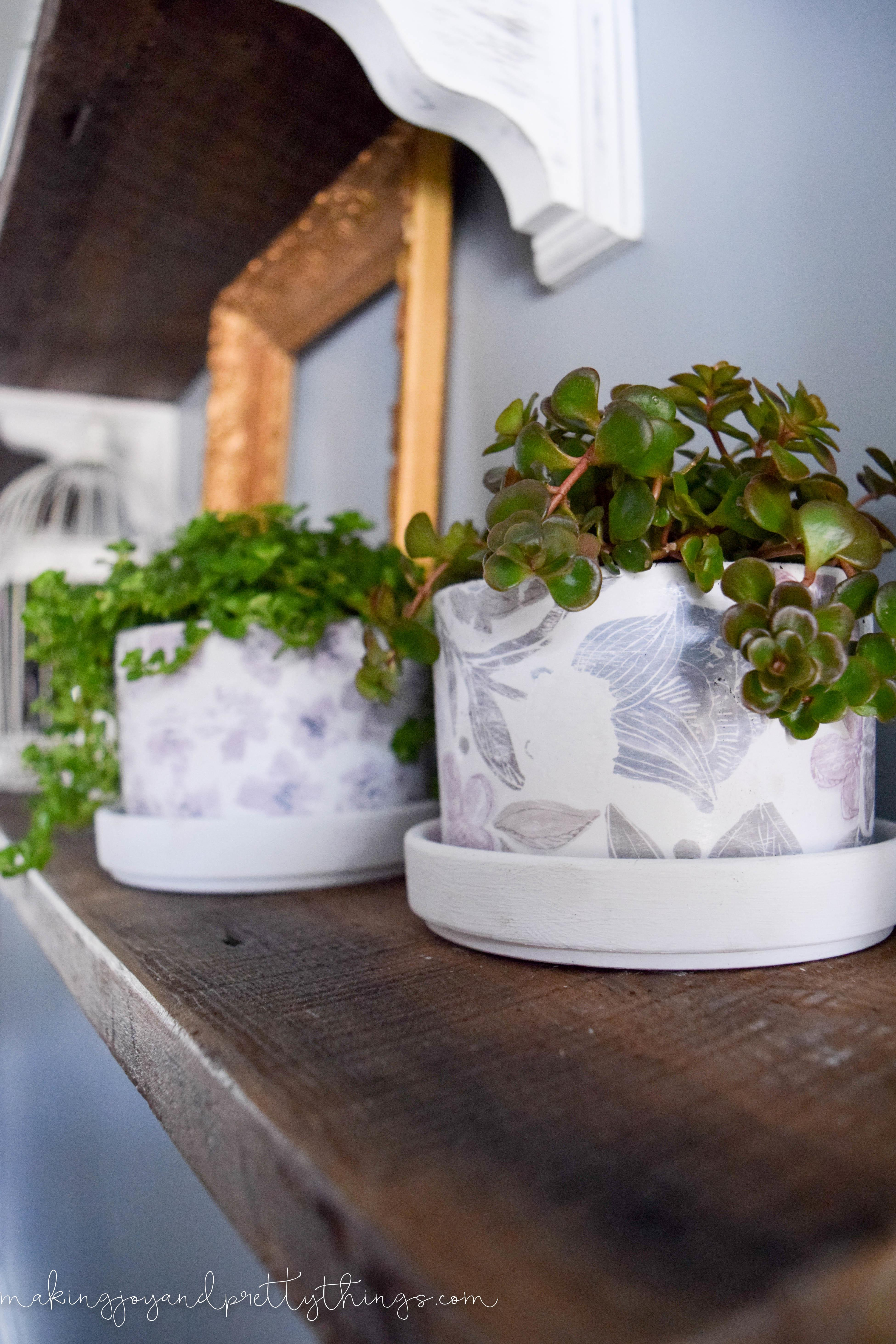 Diy Farmhouse Style Pots Making Mountains