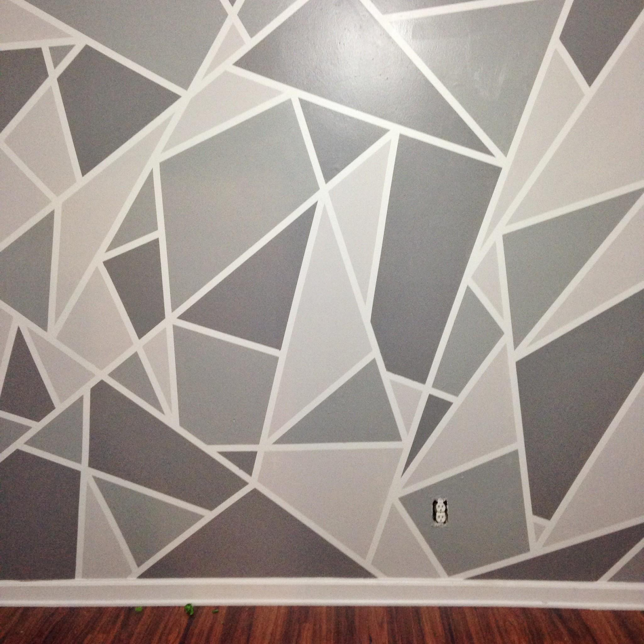 Diy Faux Accent Wall Statement