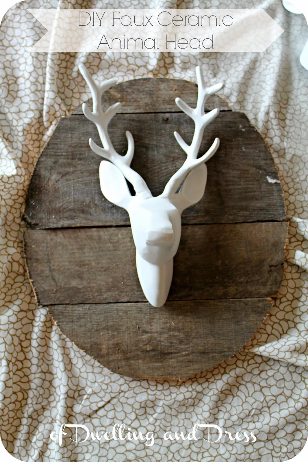 Diy Faux Animal Heads
