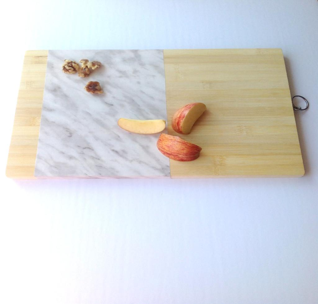 Diy Faux Marble Cutting Board Forever Create