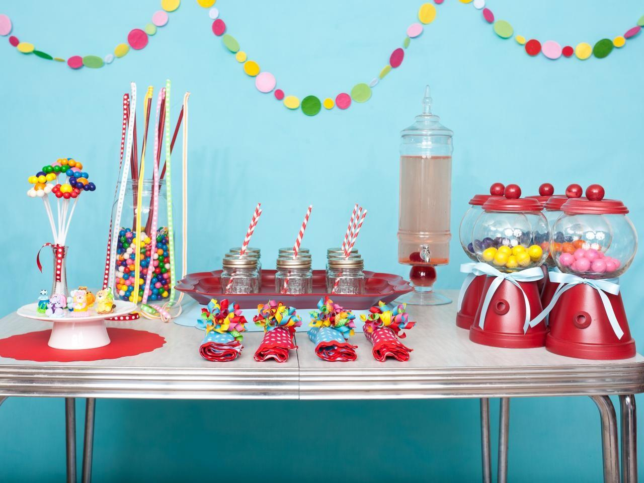 Diy Favors Decorations Kids Birthday Parties