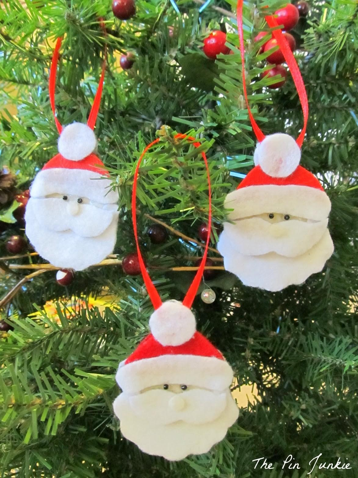 Diy Felt Christmas Ornaments Make Kids
