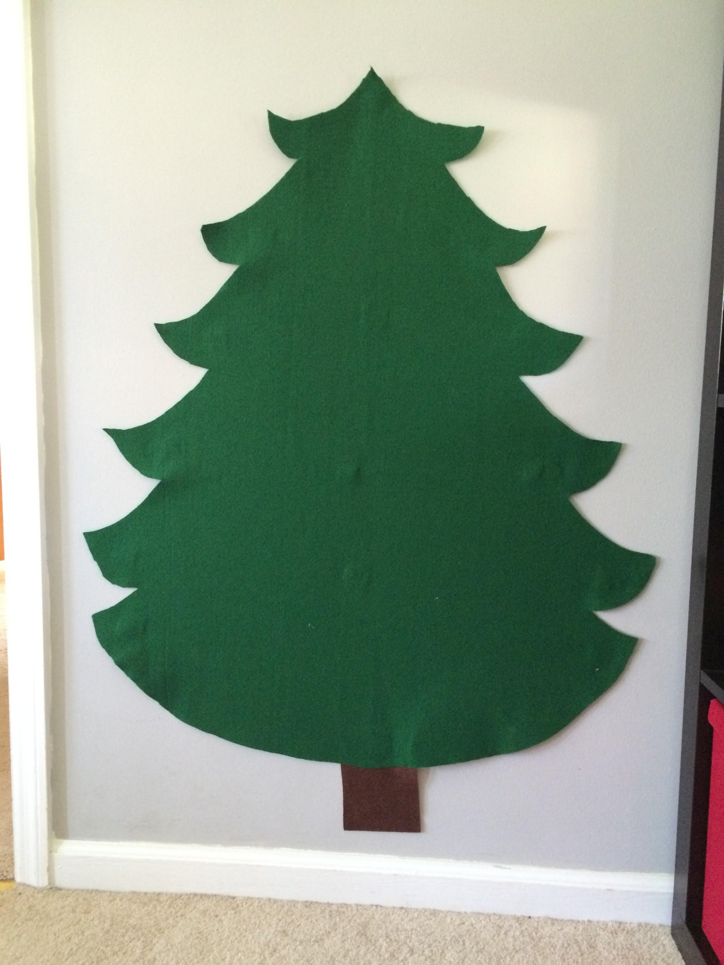 Diy Felt Christmas Tree Big Home