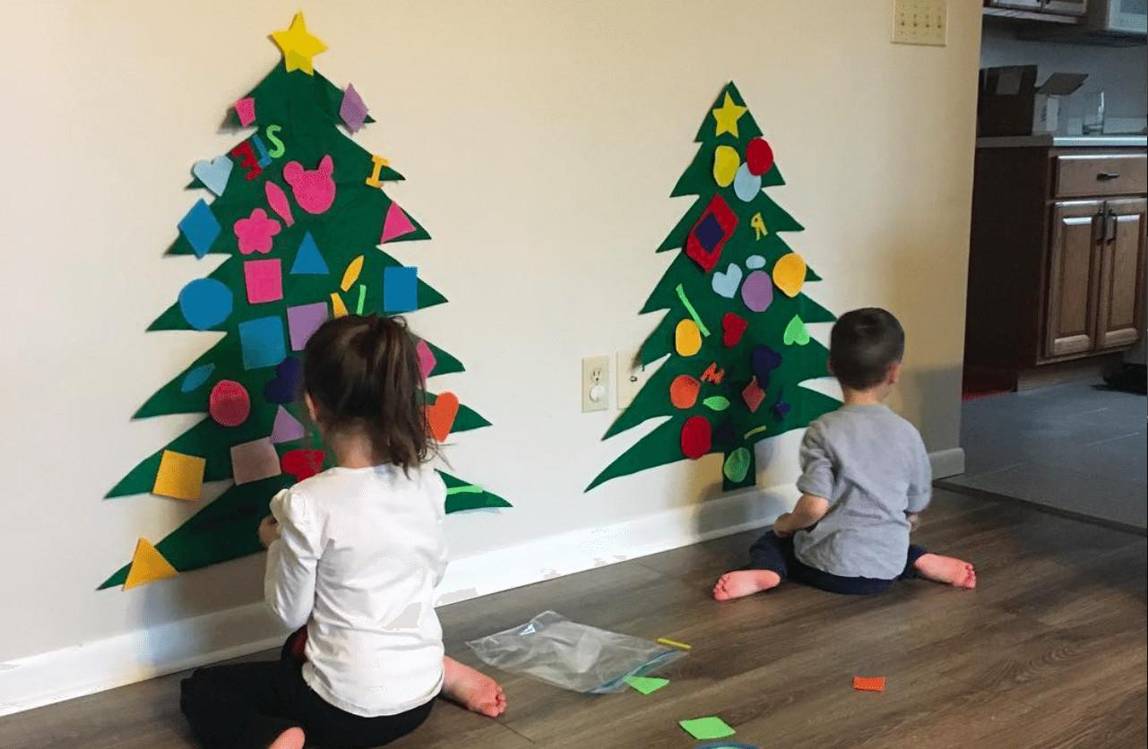 Diy Felt Christmas Tree Simplemost