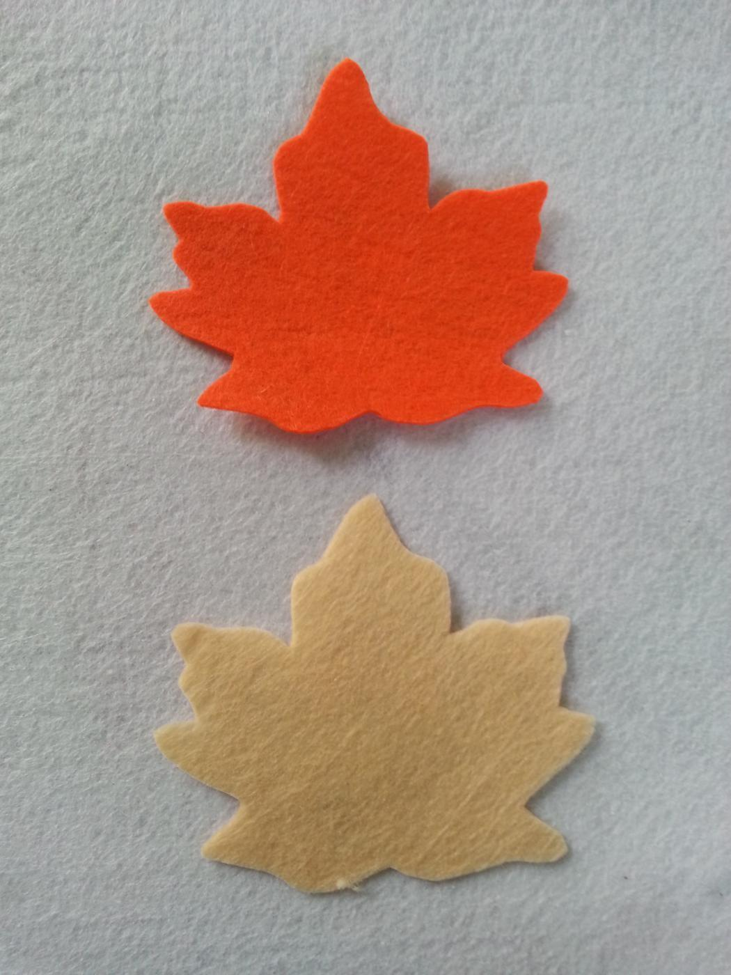 Diy Felt Fall Leaf Applique Createsie