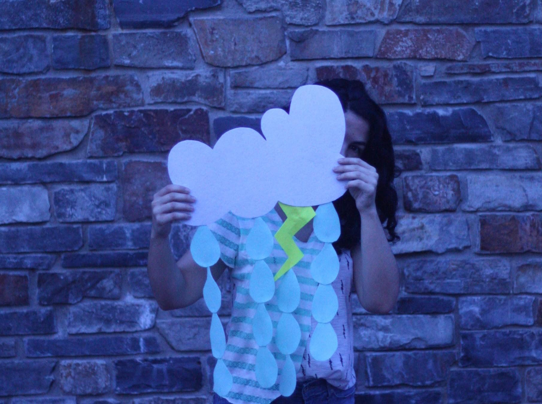 Diy Felt Rain Cloud Mobile Love Rebel