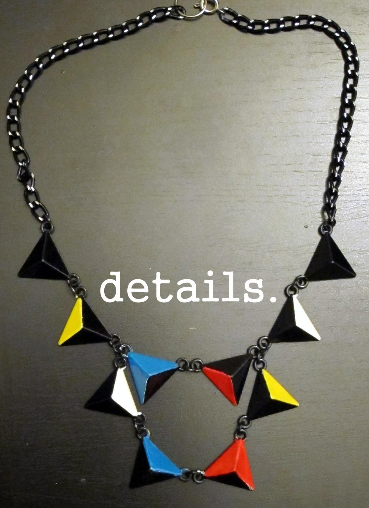 Diy Files Primary Piet Collar Necklace Quasi