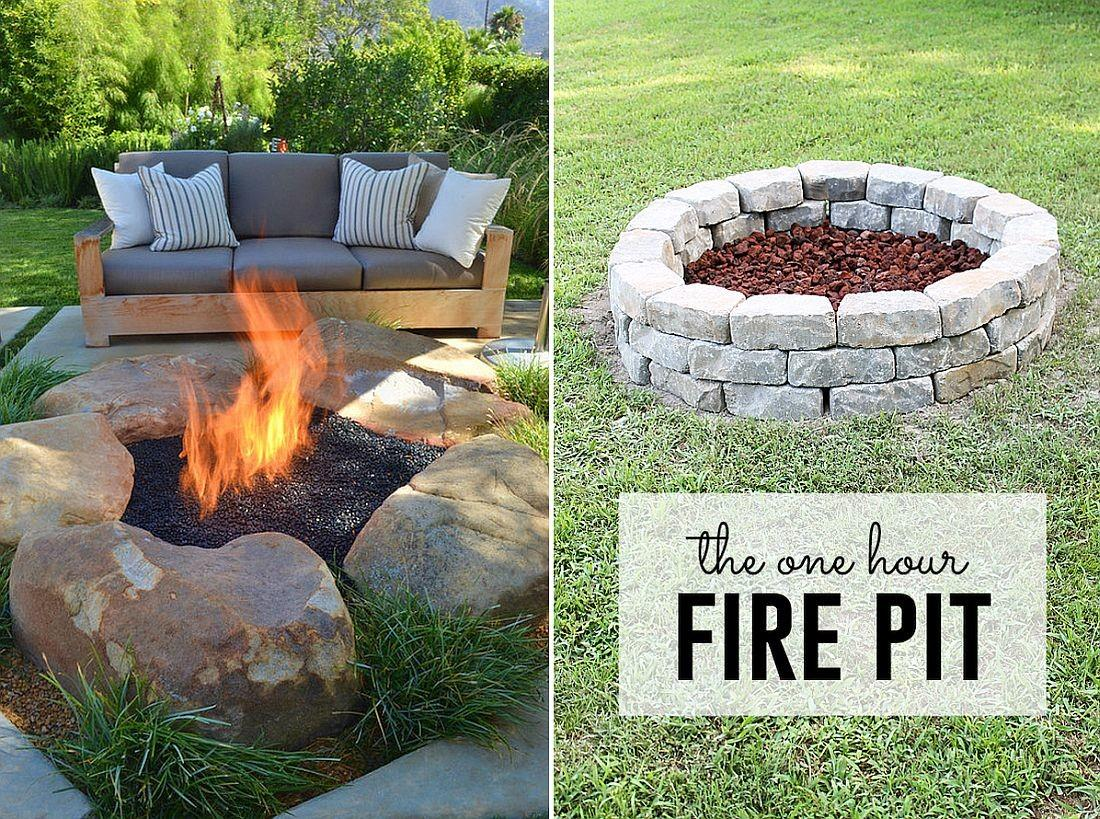 Diy Fire Pits Affordable Relatively Easy