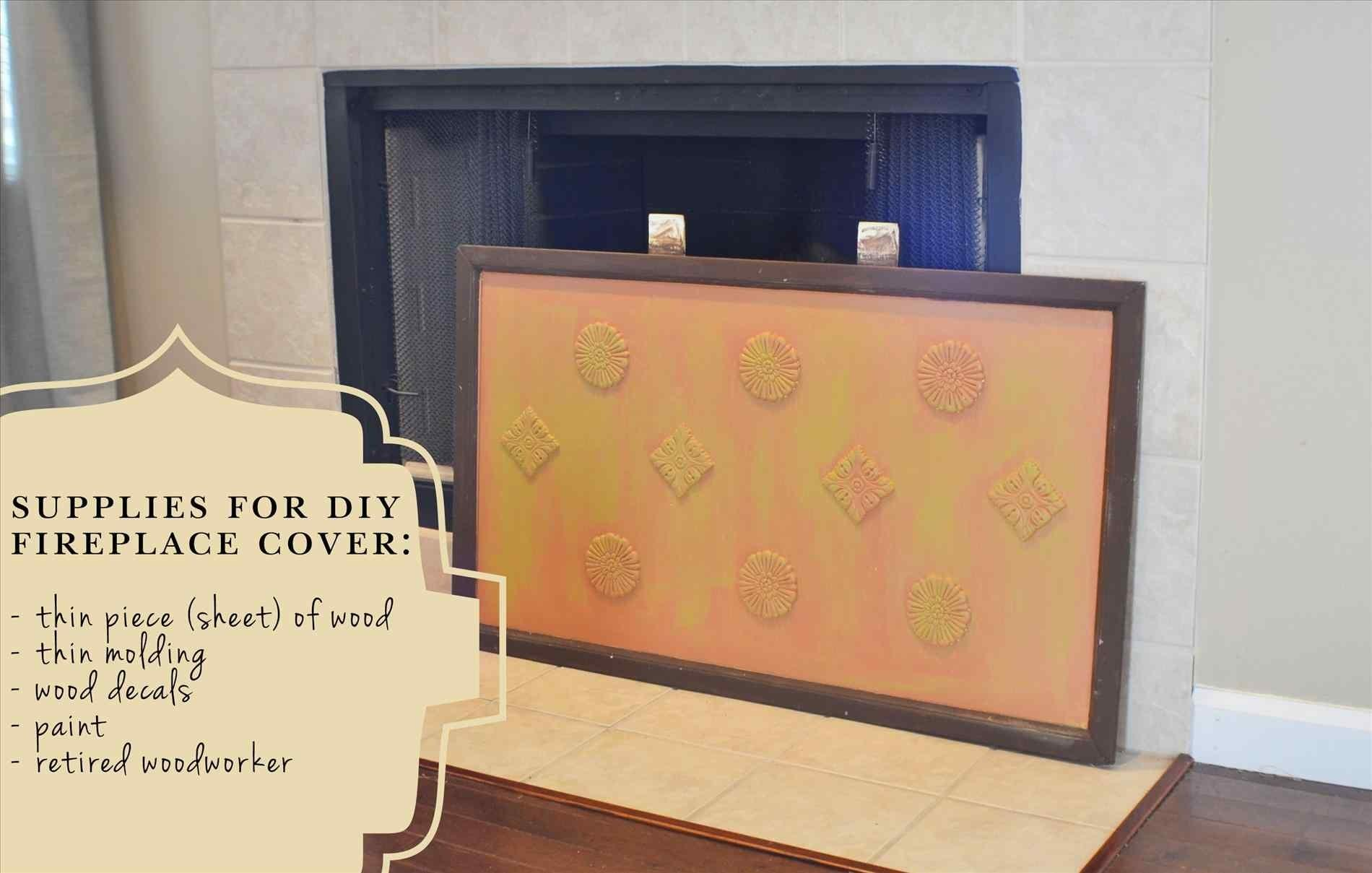 Diy Fireplace Cover Cpmpublishingcom