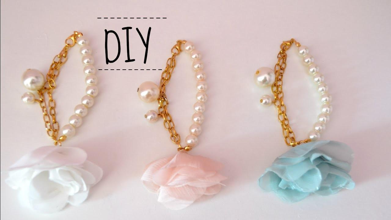 Diy Floral Jewelry Perfect Spring Time