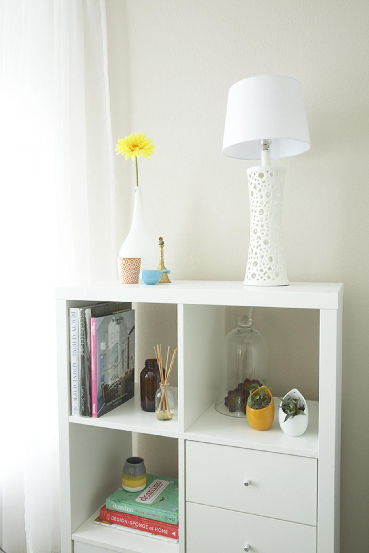 Diy Floral Lampshade Accent
