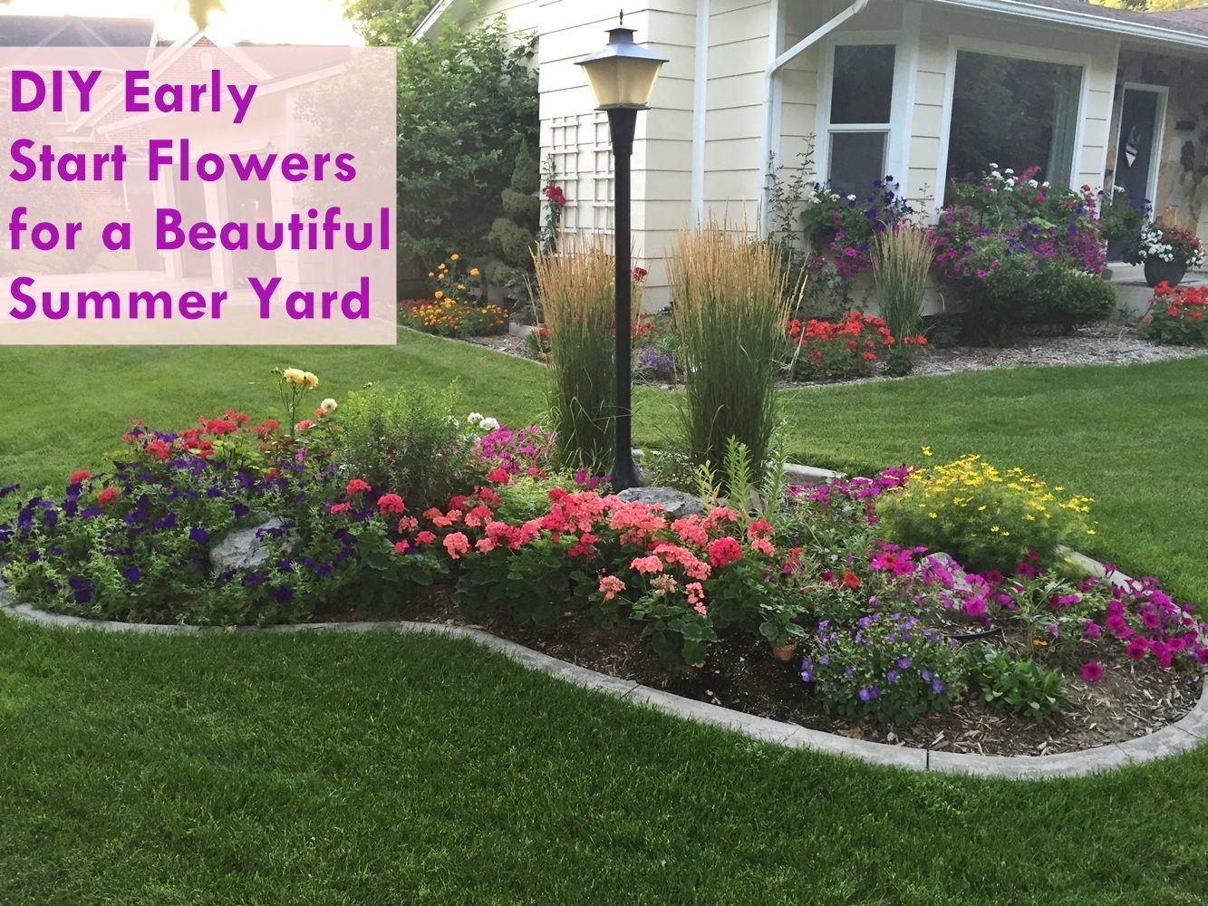 Diy Flower Bed Starts Home Decorating Trends Homedit
