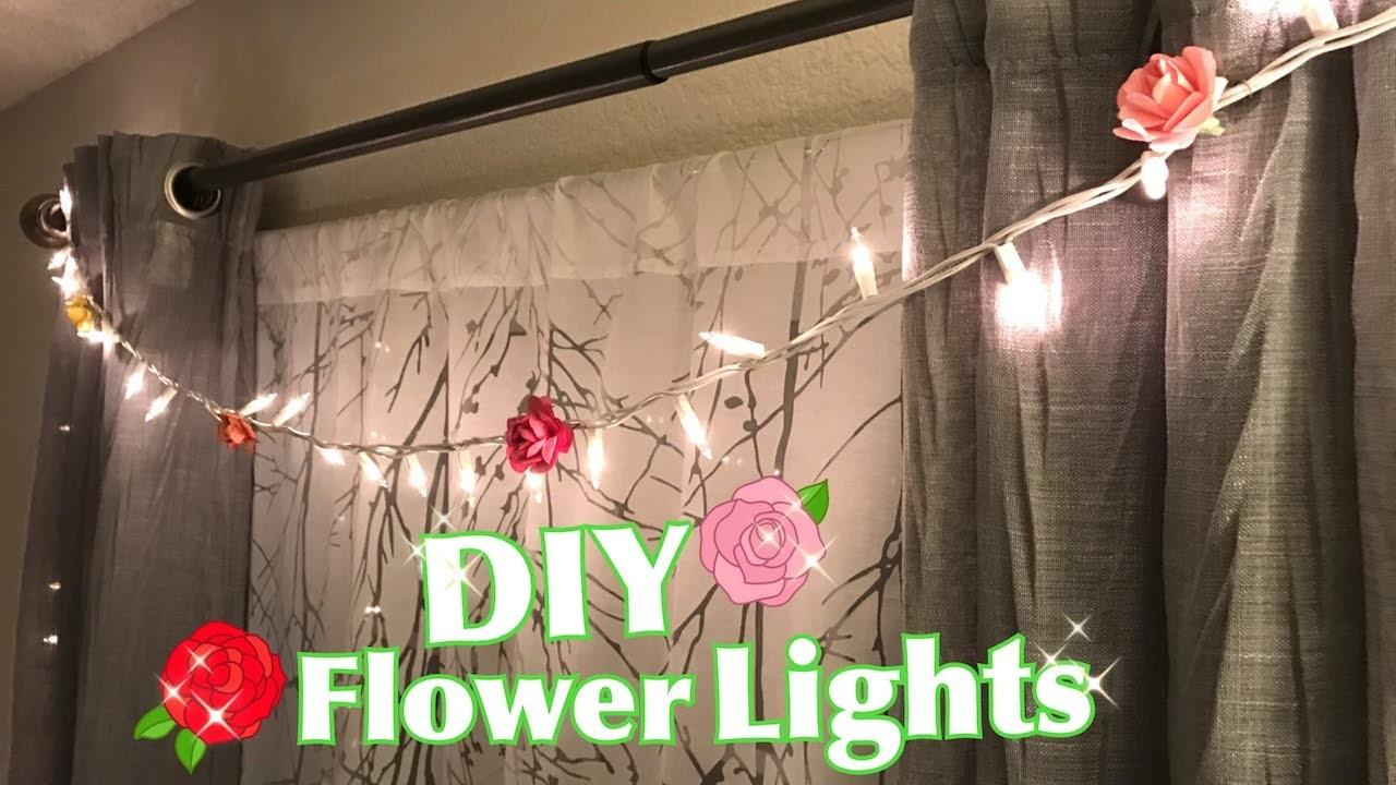 Diy Flower Lights Spring Decor