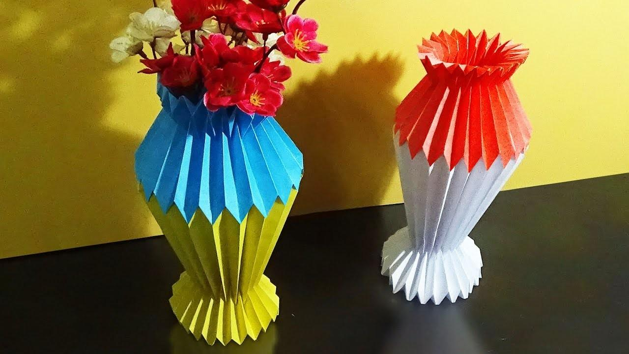 Diy Flower Vase Make Color