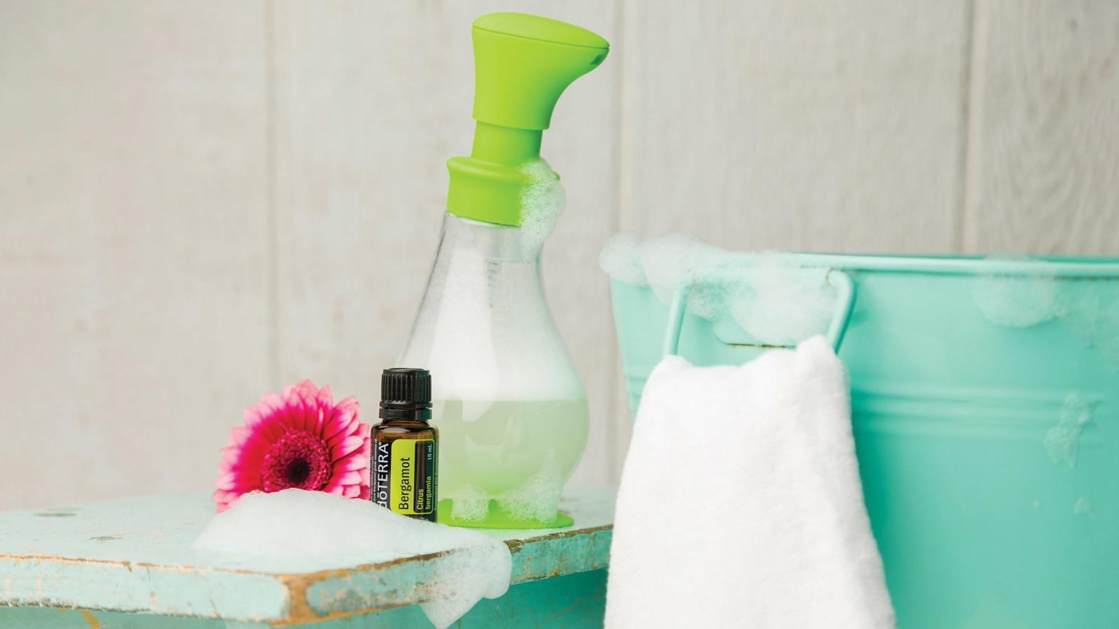 Diy Foaming Hand Soap Terra Essential Oils
