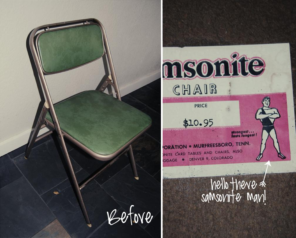 Diy Folding Chair Makeover Dwell Dignity