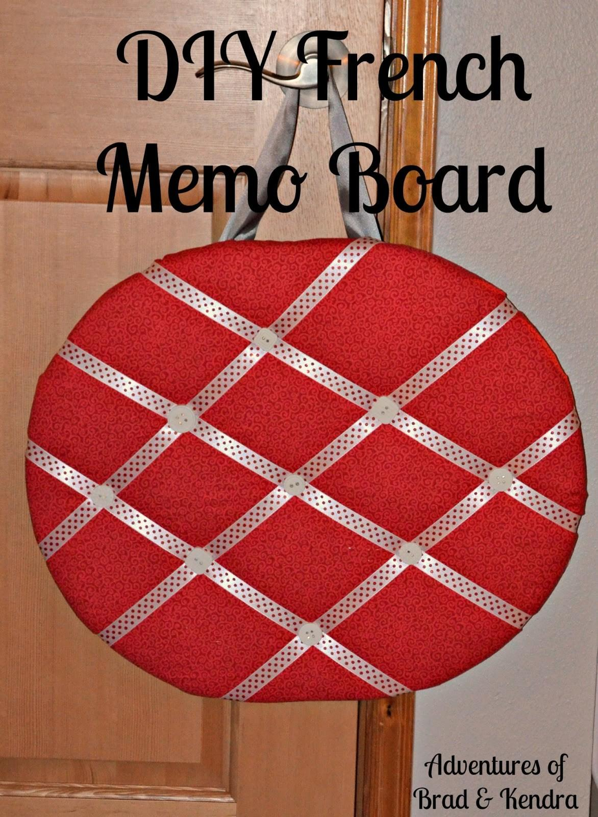 Diy French Memo Board Simply Darr Ling