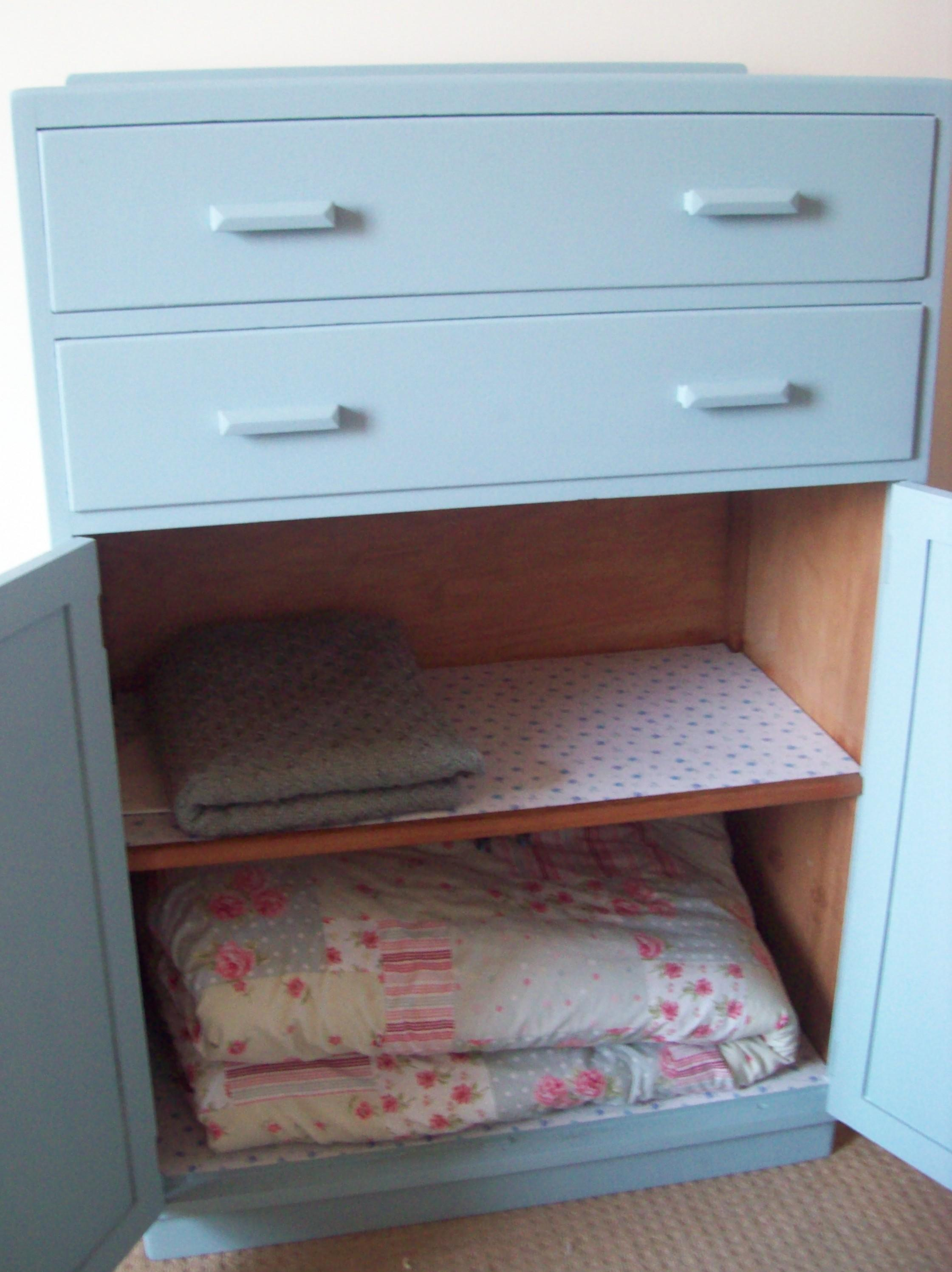 Diy Furniture Project Blanket Cupboard Cassiefairy