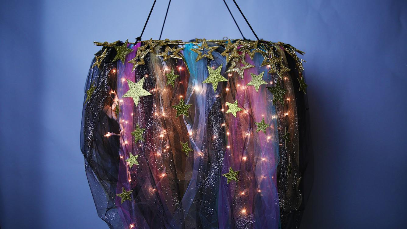Diy Galaxy Chandelier Really Improve Your Space