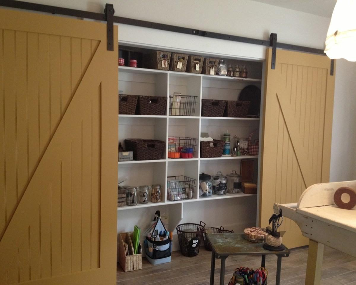 Diy Garage Storage Cabinets Simple