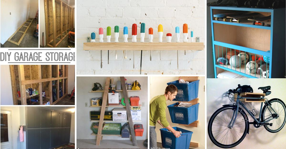 Diy Garage Storage Ideas Help Reinvent Your