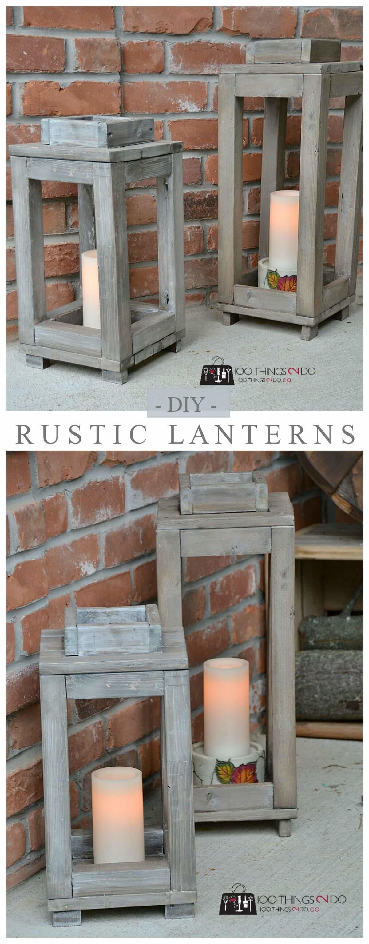 Diy Garden Lantern Ideas Illuminate Your Backyard